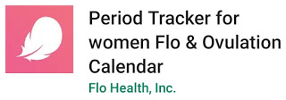 IMAGE  Flo Period Tracker for women Flo & Ovulation Calendar. Flo Health, Inc.
