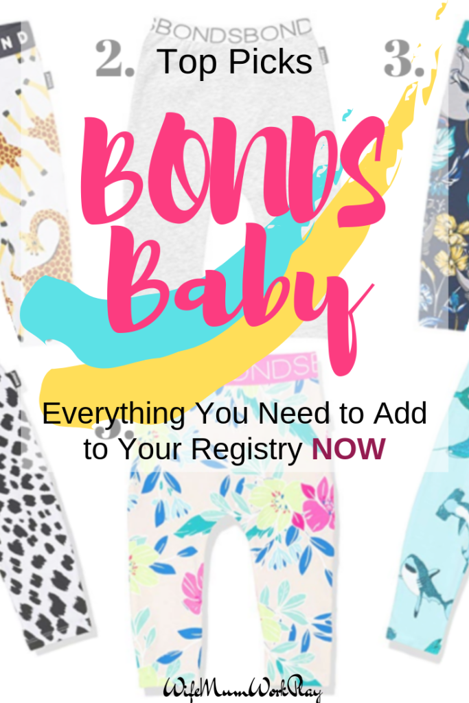 IMAGE top picks - bonds baby - everything you need to add to your registry now