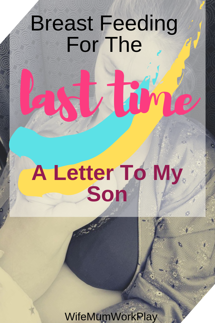 IMAGE Breast feeding for the last time - a letter to my son