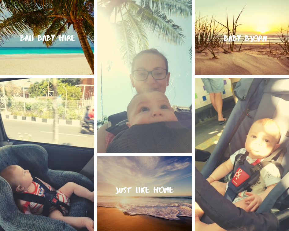 IMAGE Transportation in Bali with a 5 Month Old