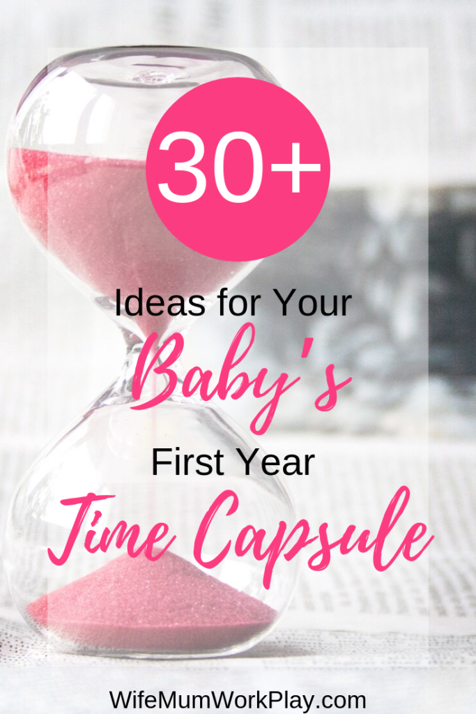 IMAGE 30+ ideas for your baby's first ear time capsule